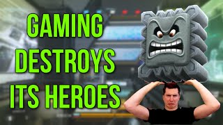 Gaming Destroys Its Heroes (advanced Warfare Gameplay Commentary)