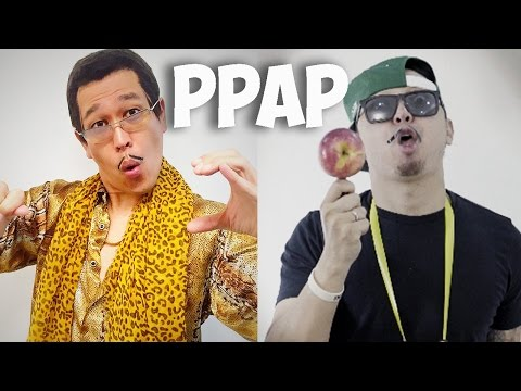 PPAP PEN PINEAPPLE APPLE PEN in 4K Video by Udin Swek #PPAP
