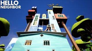 The Neighbor's BIGGEST HOUSE YET!!!! | Hello Neighbor (Mods)