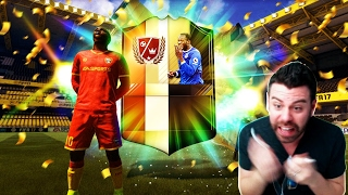 WTF?!? I PACK LEGENDS, MOTMs, WALKOUT INFORMs and OTWs! THE BEST FIFA 17 PACK OPENING EVER