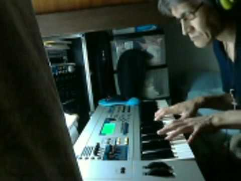 "Takumi Tokaji Synthesizer web live recording movie   'Only this moment"" #3"