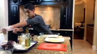 cooking with zac live episode 11 chicken frisee salad the pig ear dish masterchef junior