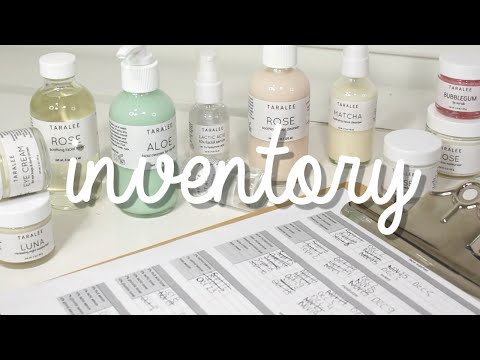 Keeping Track of Batches & Inventory - Selling Skincare Products on Etsy