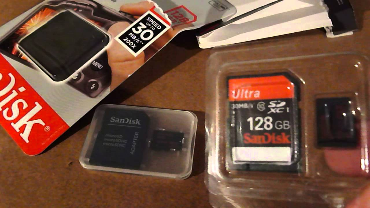 How To Spot A Counterfeit Sandisk 128gb Micro Sd Card Youtube