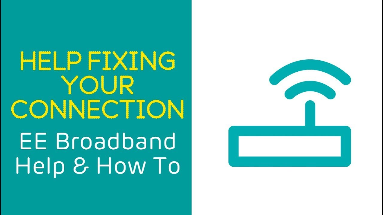 Internet Not Working Home Broadband Help Ee Dsl Outside Box Wiring Diagram How Can I Fix My Connection
