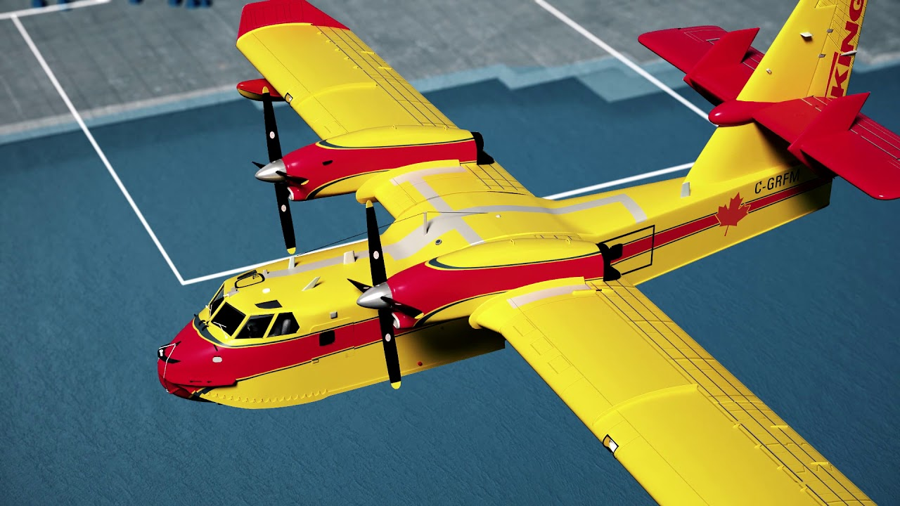 Viking Canadair 515   Viking's Aerial Firefighter