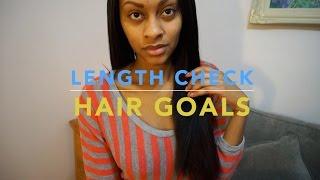 Length Check & Hair Goals for 2015!