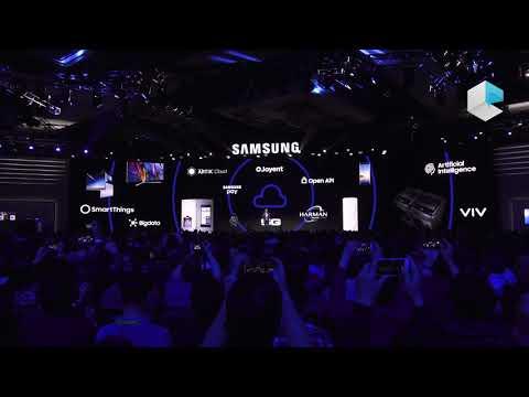 Samsung keynote CES 2018