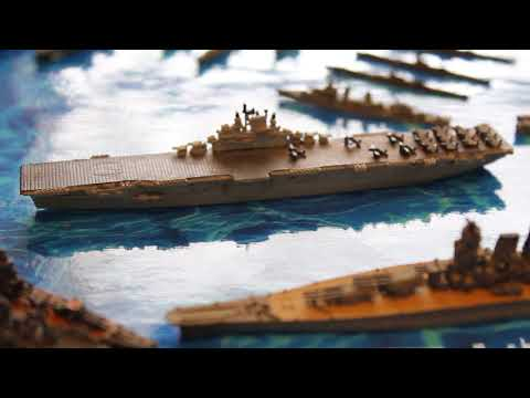 GHQ Models - MICRONAUTS - Collection - 1/2400 Naval War game