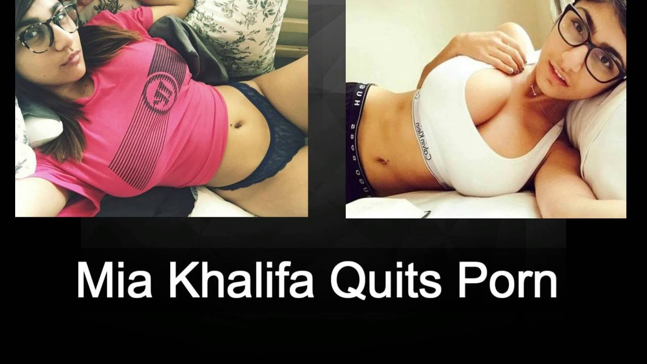 Mia khalifa on leaving porn Mia Khalifa Quits Porn See What She Is Up To Now Youtube