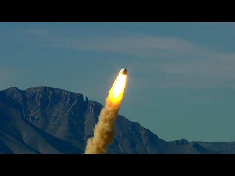 Испытание системы спасения экипажа Blue Origin | New Shepard