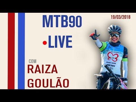 MTB90 LIVE com Raiza Goulão (CAPE APIC - AFRICA DO SUL)