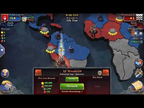 DomiNations enlightenment age vs industrial age world war 5* 04.12.2017