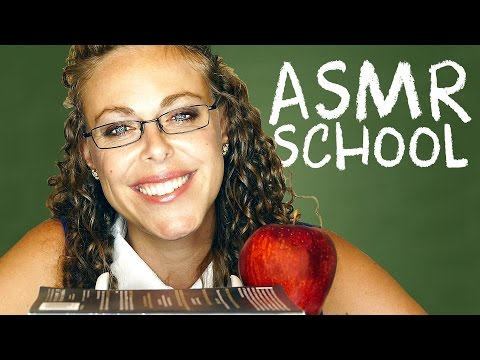 ASMR School – Teacher Role Play – How to Handle Stress & Sch