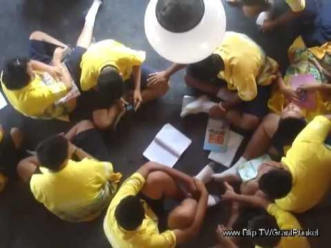 Dep. Australian Ambassador at school in Phuket