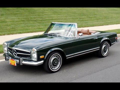 Beautiful 1969 Mercedes Pagoda Roof Cabriolet 280sl For