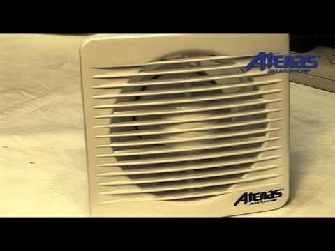 Extractor de Baño - Atenas Ventilacion - YouTube
