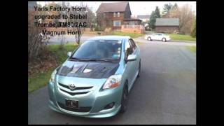 2007 Toyota Yaris Horn Upgrade