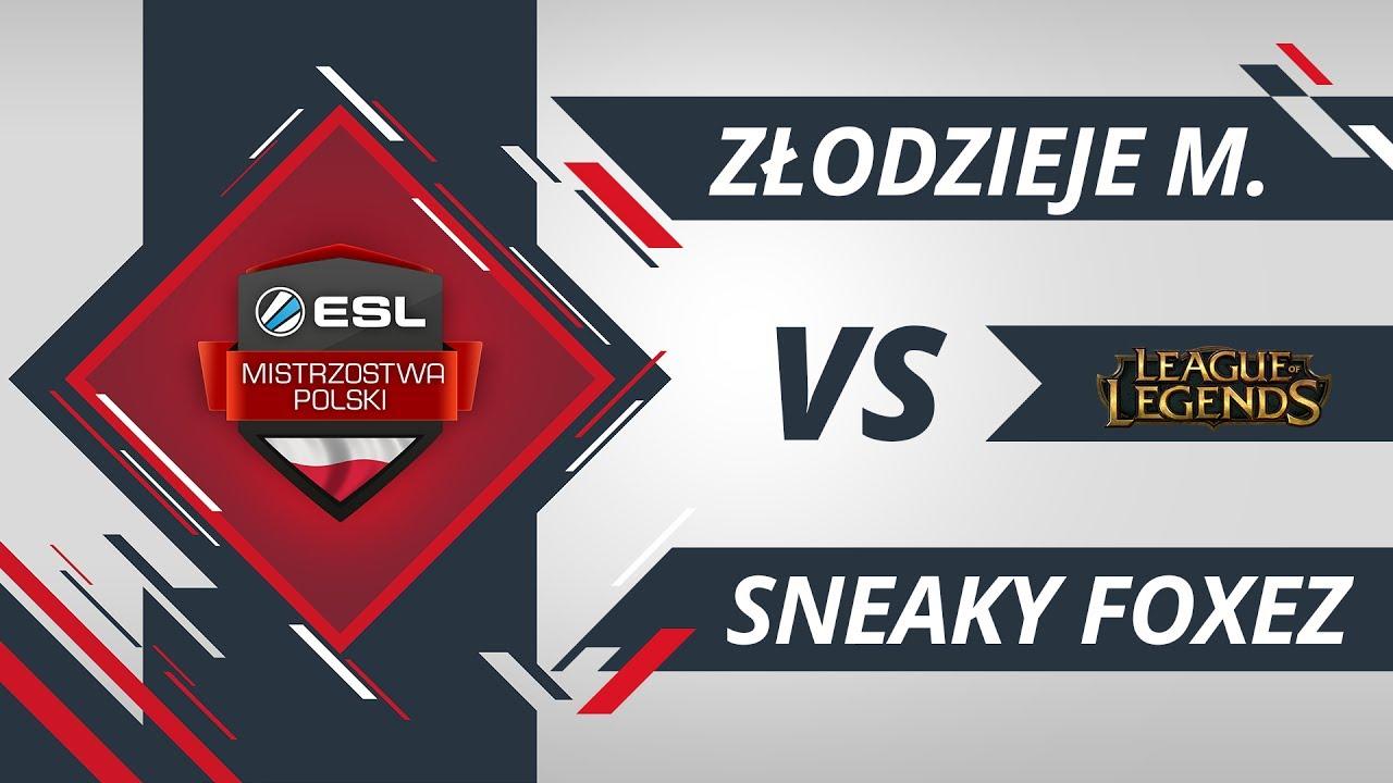 Złodzieje monitorów vs Sneaky Foxez | EMP LoL W1D1 Gra #1
