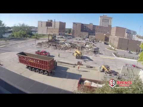 See 48-hour demolition of downtown Saginaw building in 40 seconds flat
