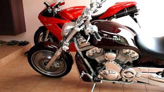 Harley Davidson V-Rod, BMW R1200GS Adventure, Ducati 1098S (My Dream Bikes)