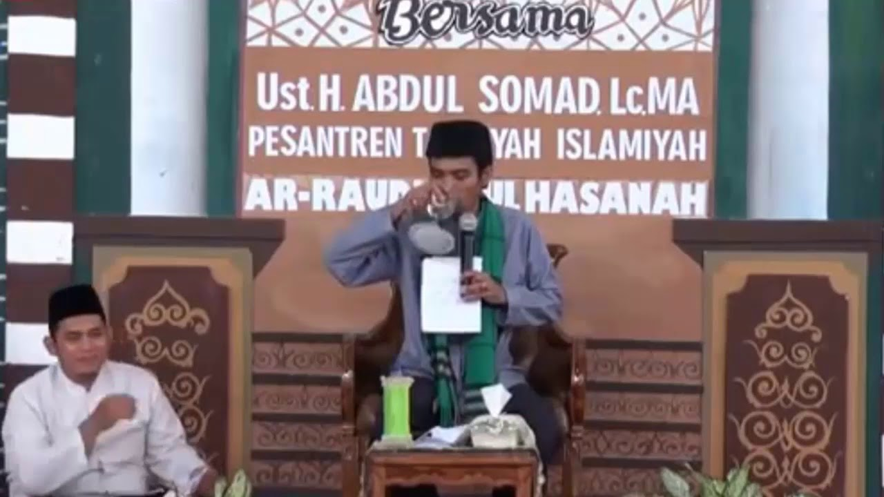 CERAMAH KOCAK USTAD ABDUL SOMAD TERBARU 2018 - YouTube