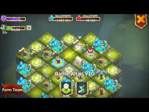 Jtisallbusiness Level 22 Lost Realm Taking Level 10 Towers GamePlay 160,000 MIGHT Castle Clash