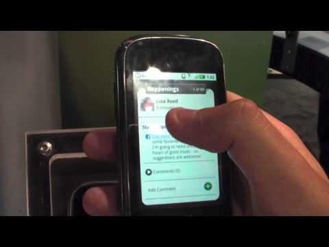 Motorola Cliq Demo