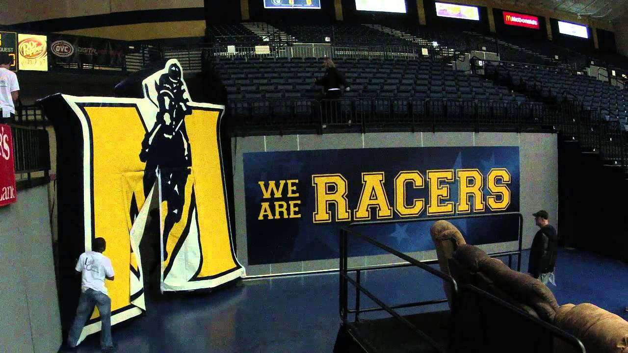 Racer Basketball- Game Day time lapse- Murray State ...