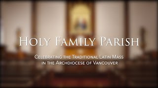 Holy Family Parish (2020)