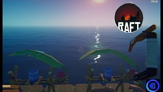 STRANDED ON A RAFT! - Raft - Full Release - Part 1