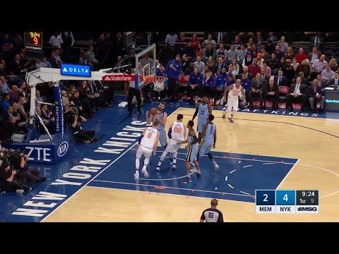 1st Quarter, One Box Video: New York Knicks vs. Memphis Grizzlies