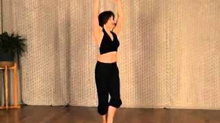 Belly Ballet 5th Position - Blues Dance Lesson, Evita Arce #1951