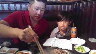 Korean BBQ @ OMI: Family Food Vlog
