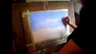 How to Paint a Pastel Sky