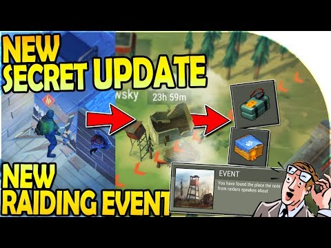 NEW SECRET UPDATE - NEW RAIDING EVENT ( C4 + ELITE PUPPY ) in Last Day on Earth Survival Update 1.11