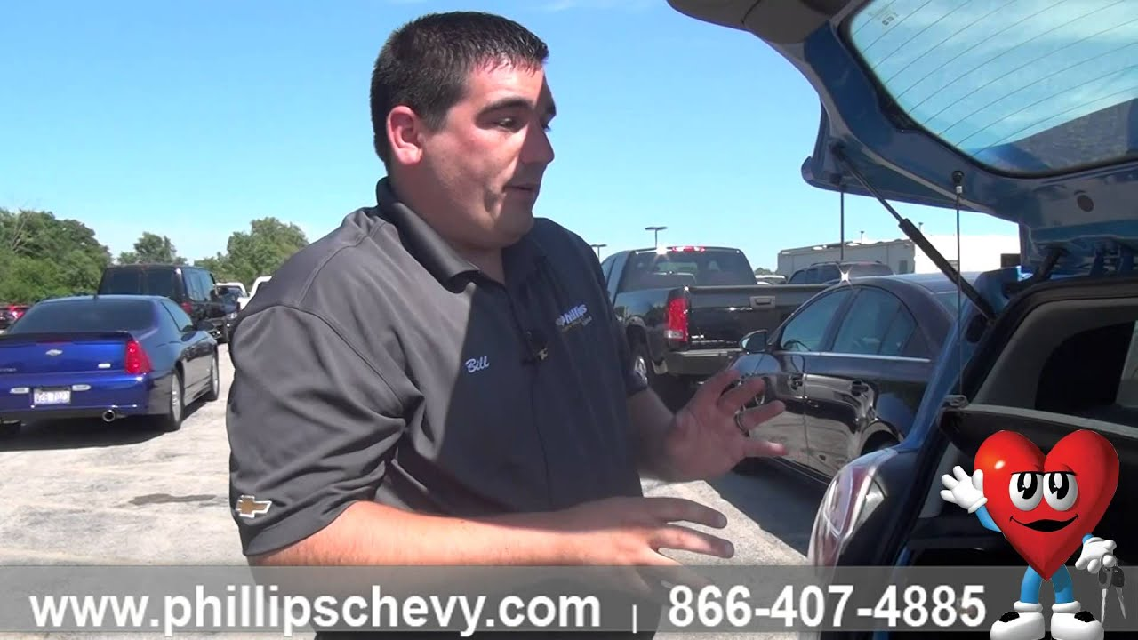 Phillips Chevy Frankfort >> Changing Spare Tire on a Chevy Spark with Inflator Kit ...