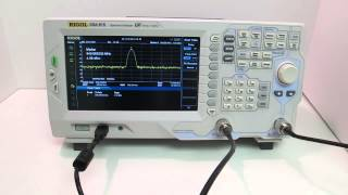Rigol DSA-815 Spectrum Analyzer - Product Overview
