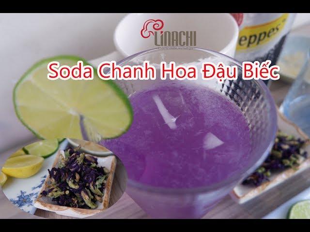 Soda Chanh Hoa Đậu Biếc Giải Nhiệt Mùa Hè