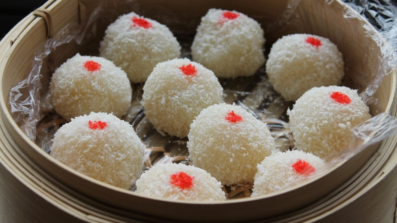 Perles de coco    la recette traditionnelle chinoise  Cooking With Morgane  YouTube