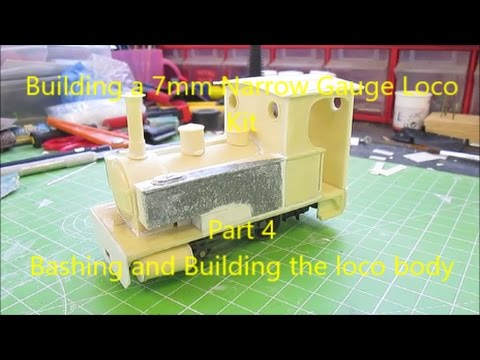 Building a 7mm  Narrow Gauge Loco Kit –  Pt4 Bashing and building the kit