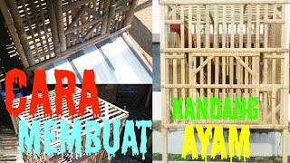 Download Video CARA MEMBUAT KANDANG AYAM Bongkar Pasang 1 pintu, TUTORIAL LENGKAP MP3 3GP MP4