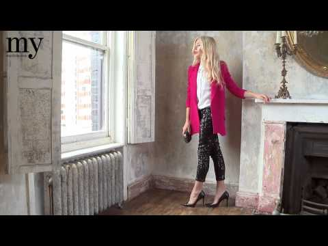 Lights, camera...Model Clara Paget on the hottest cocktail looks of the season  mywardrobe.com