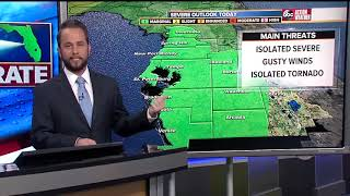Florida's Most Accurate Forecast with Jason on Saturday, January 19, 2019