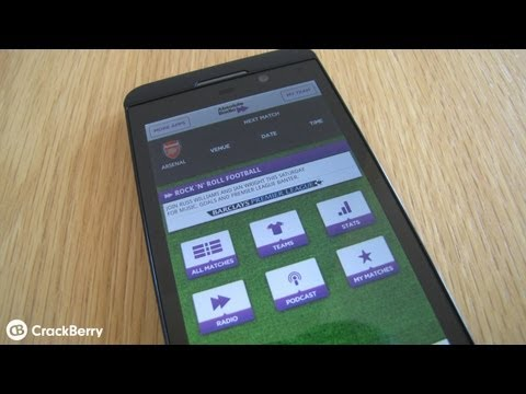 Absolute Radio - Live Scores for BlackBerry 10