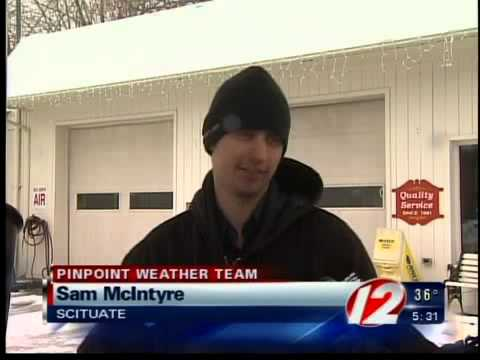 Northern RI hit hardest by latest snow and sleet storm
