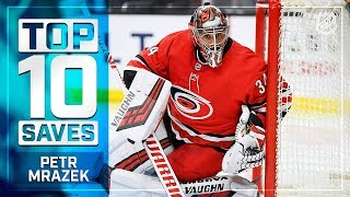 Top 10 Petr Mrazek saves from 2018-19