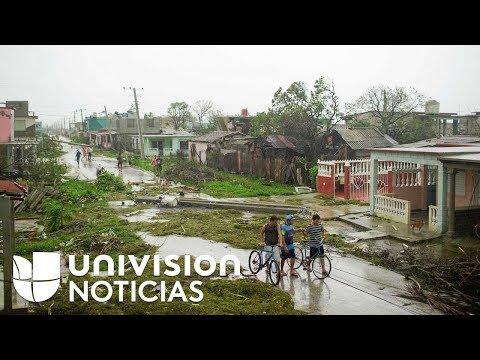 Huracán Irma impacta con toda su furia el norte de Cuba