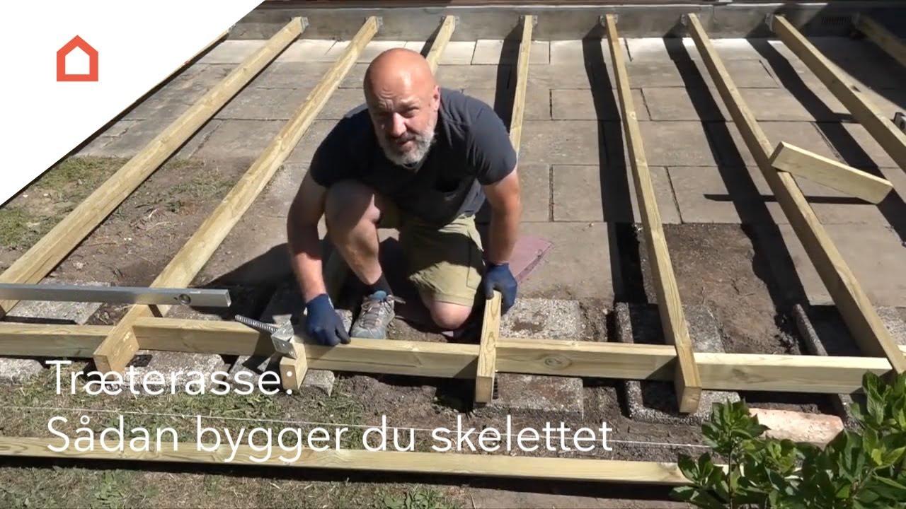 anlægning af træterrasse