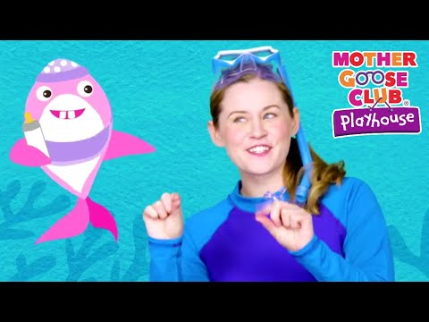 NEW SINGLE | Baby Shark | Animal Songs | Mother Goose Club Playhouse Songs for Children | #BabySongs